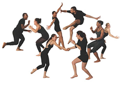 Young Dancemakers Co; Photo by Bruce Fuller
