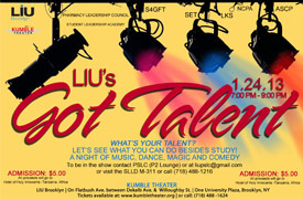 LIU Brooklyn LIU's Got Talent