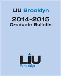 LIU Brooklyn Graduate Bulletin 2014-15