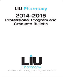 LIU Pharmacy Bulletin 2014-15