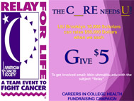Felay for Life A Team Event to Fight Cancer The C_URE Needs U LIU Brooklyn 10,000 Scholars can raise $50,000 Dollars when we each Give $5 To get involved email: bkln-uhms@liu.edu with the subject