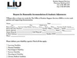 LIU Brooklyn Forms and Guidelines