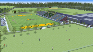 LIU Post Stadium Site Rendering