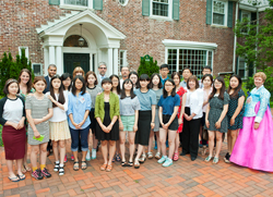 LIU Post South Korean Students