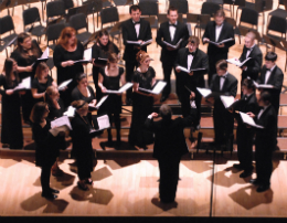 Chamber singers at Tilles Center