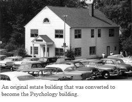 Original Psychology building