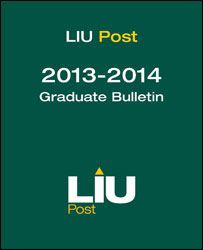 LIU Post Graduate Bulletin 2013-14