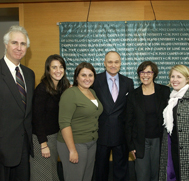 Members of the First Responder Institute with Commissioner Ray Kelly from the New York City Police Department