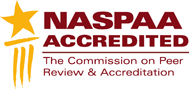 NASPAA Accredited - The Commission on Peer Review & Accreditation