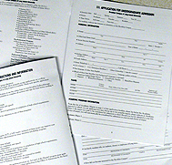 Admissions Forms and Documents
