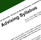 Academic Advising Syllabus