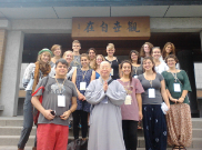 Students experience Buddhist Life