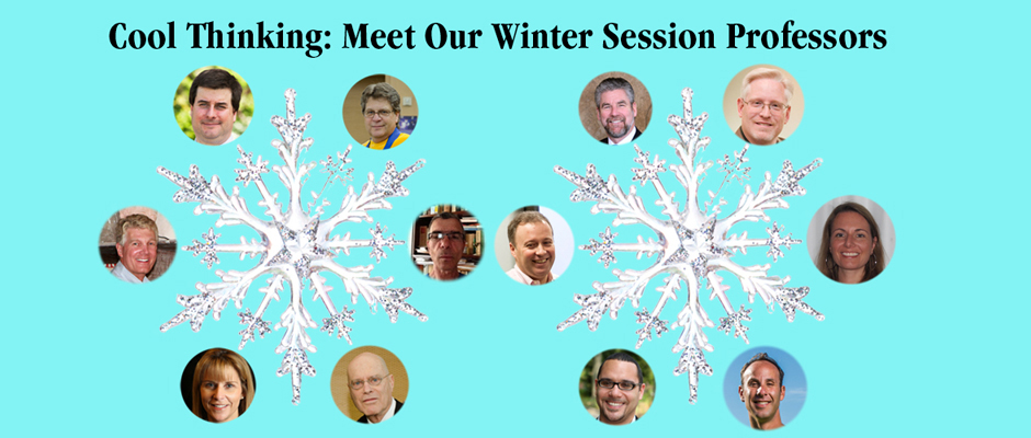Cool Thinking: Mee Our Winter Session Professors